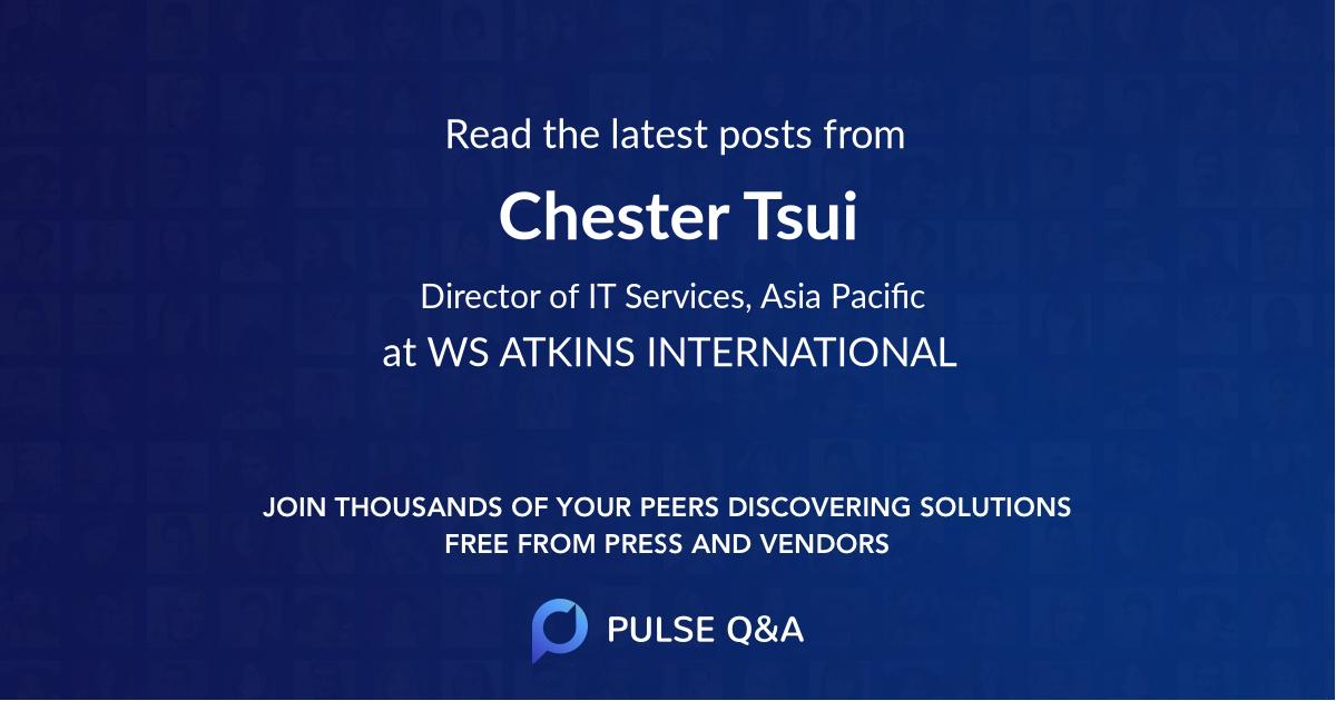 Chester Tsui