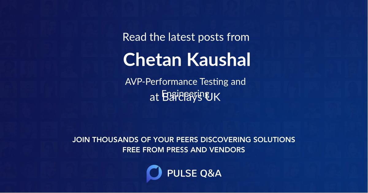 Chetan Kaushal