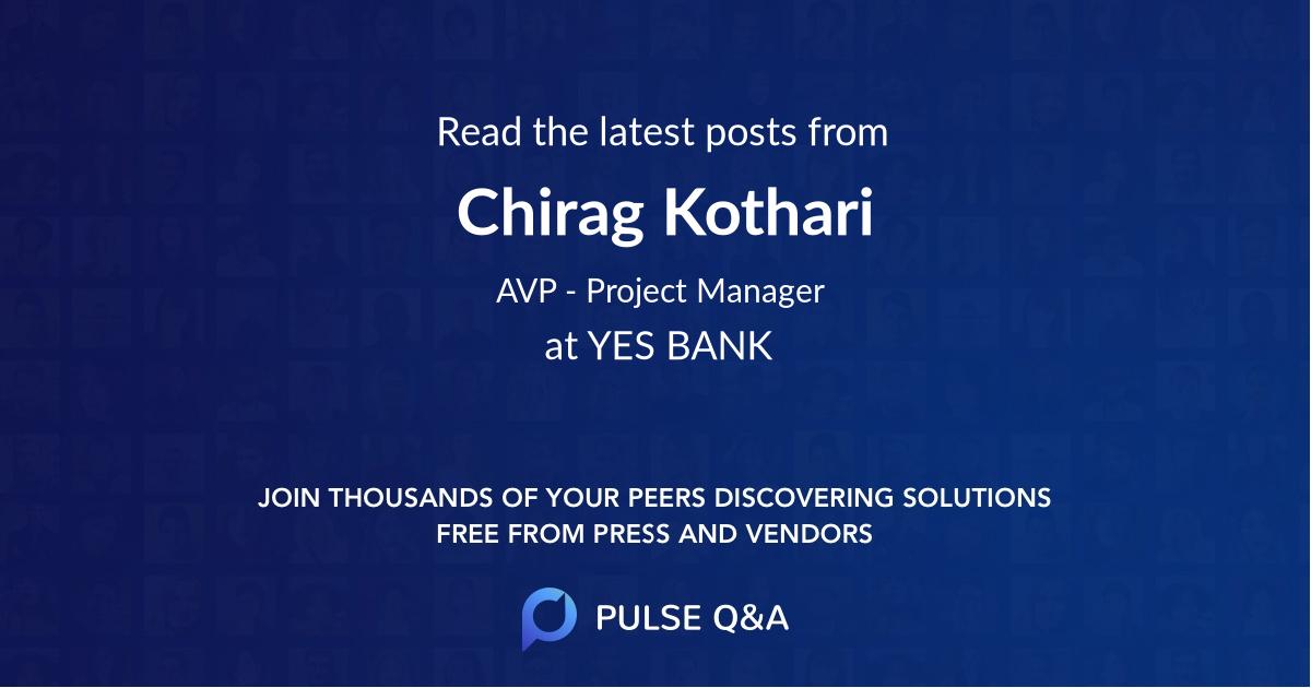 Chirag Kothari