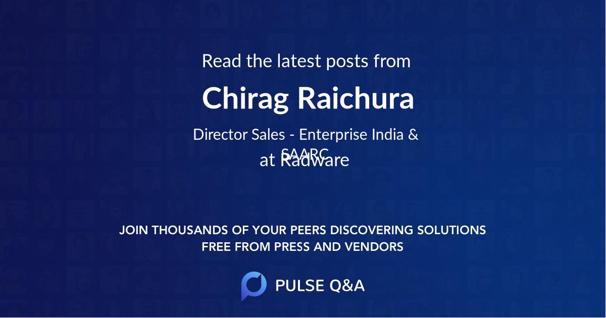Chirag Raichura