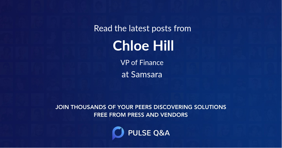 Chloe Hill
