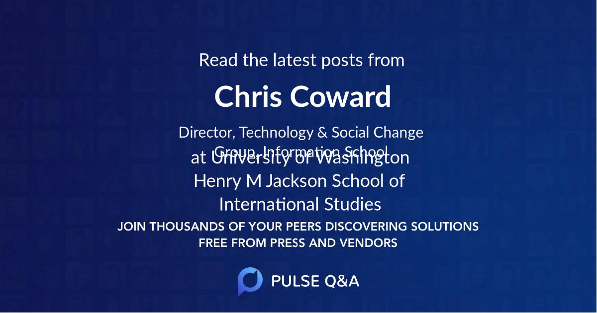 Chris Coward