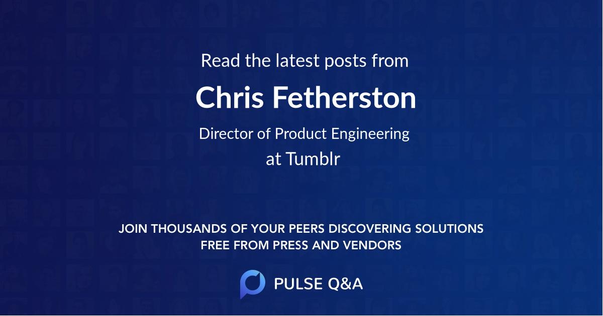 Chris Fetherston