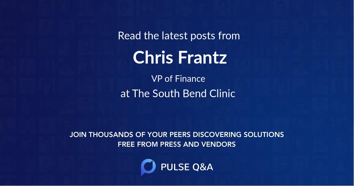 Chris Frantz