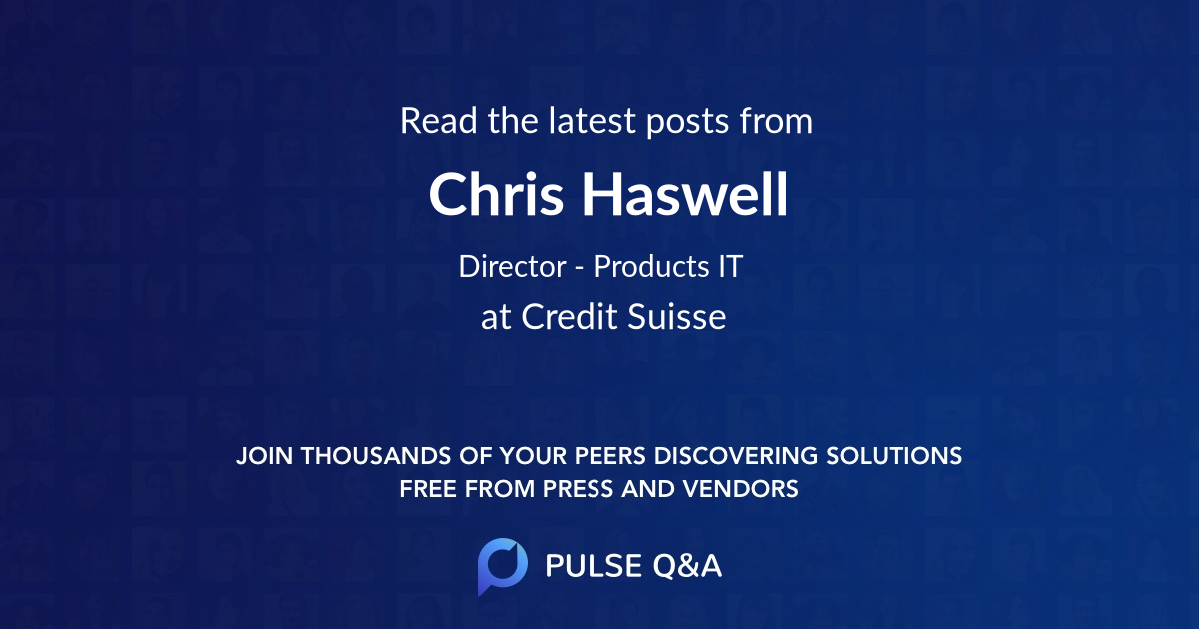 Chris Haswell