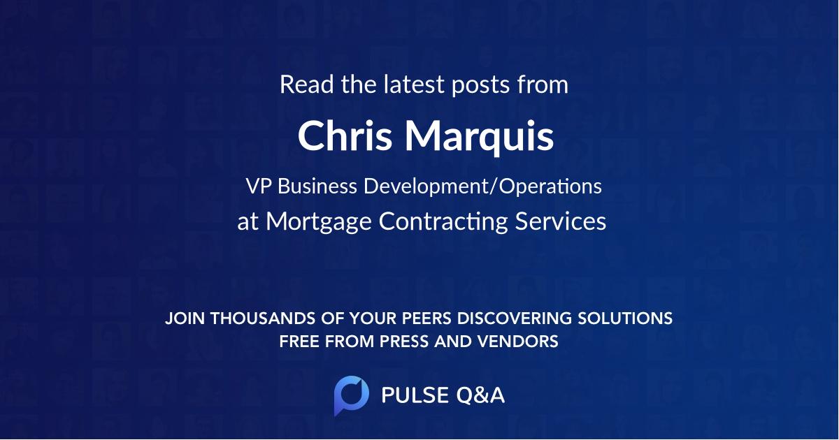 Chris Marquis