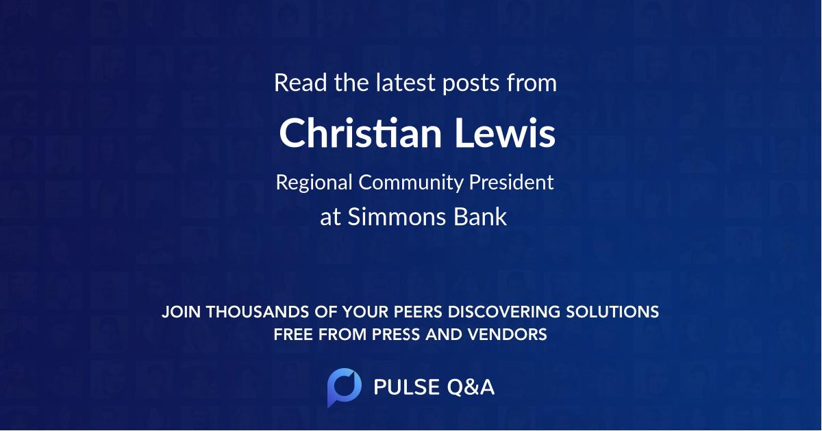 Christian Lewis