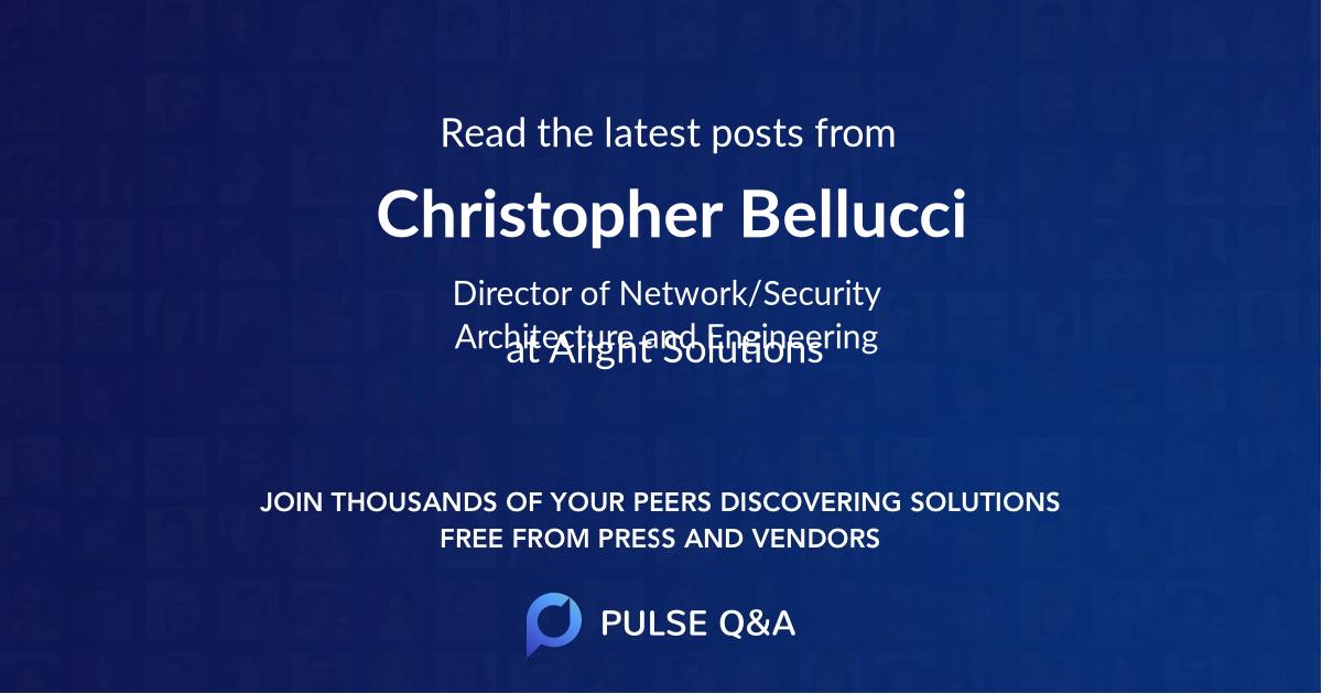 Christopher Bellucci
