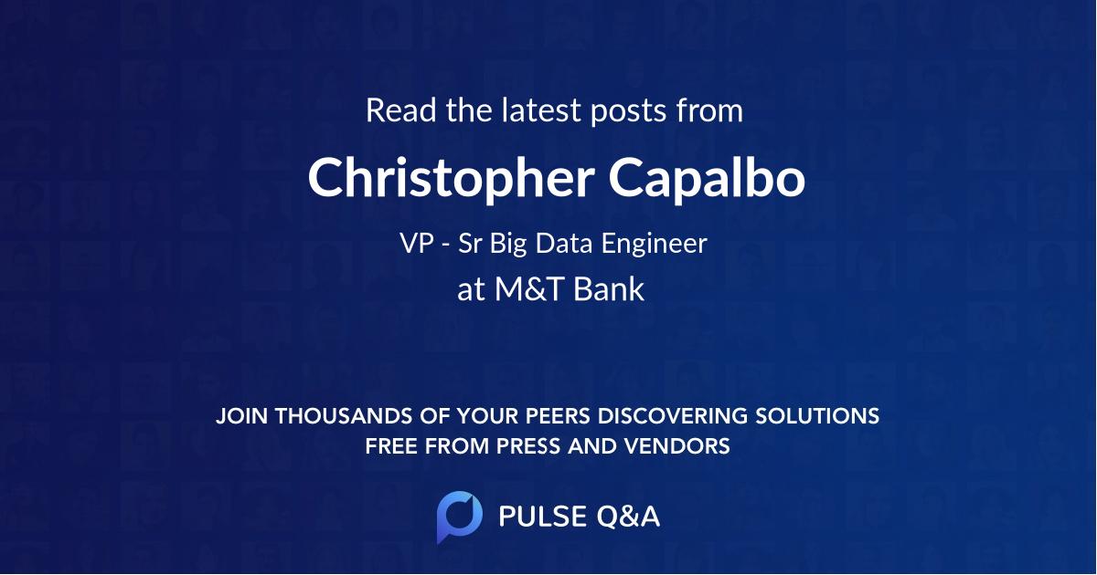 Christopher Capalbo