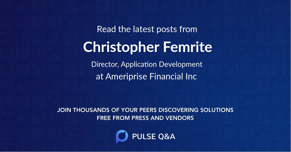 Christopher Femrite