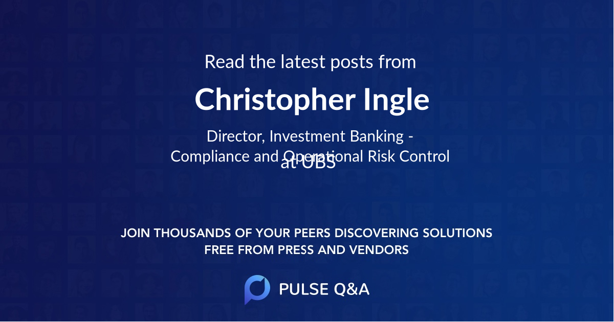 Christopher Ingle