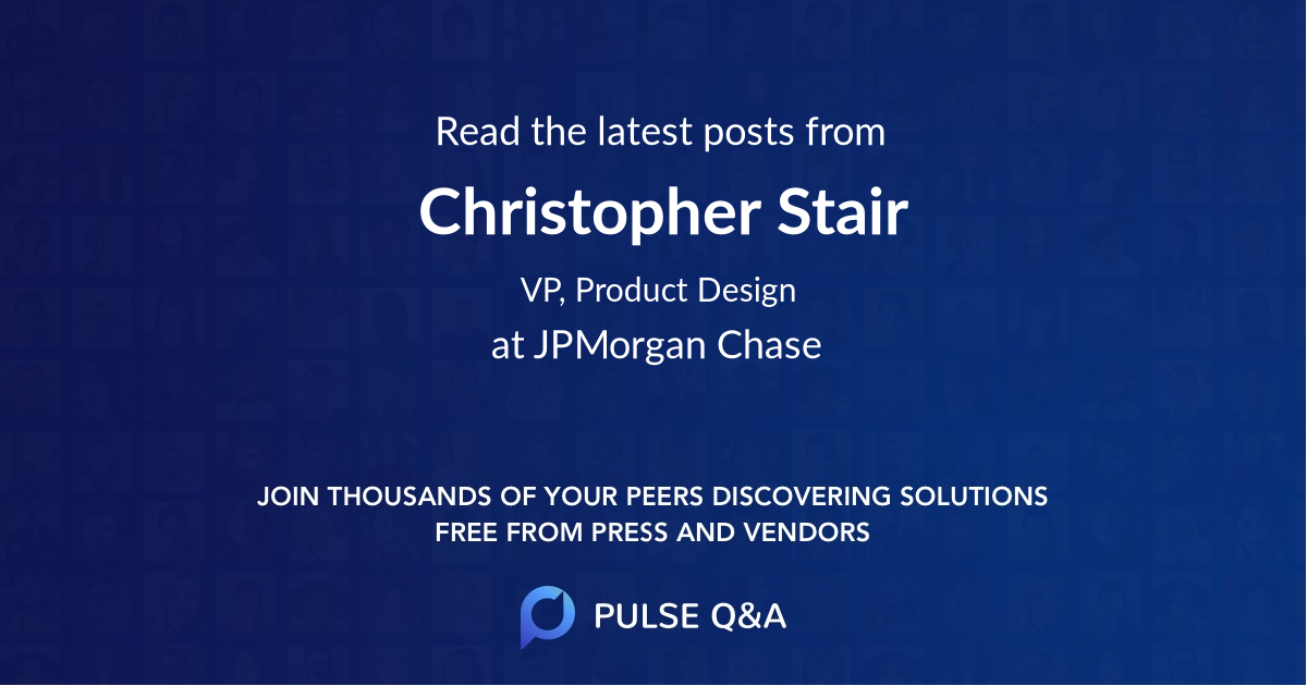 Christopher Stair
