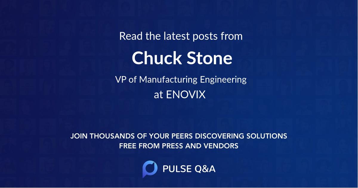 Chuck Stone