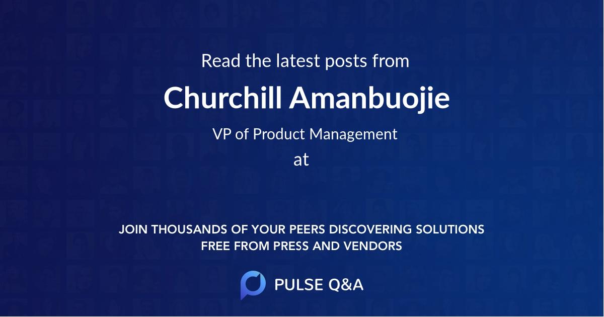 Churchill Amanbuojie