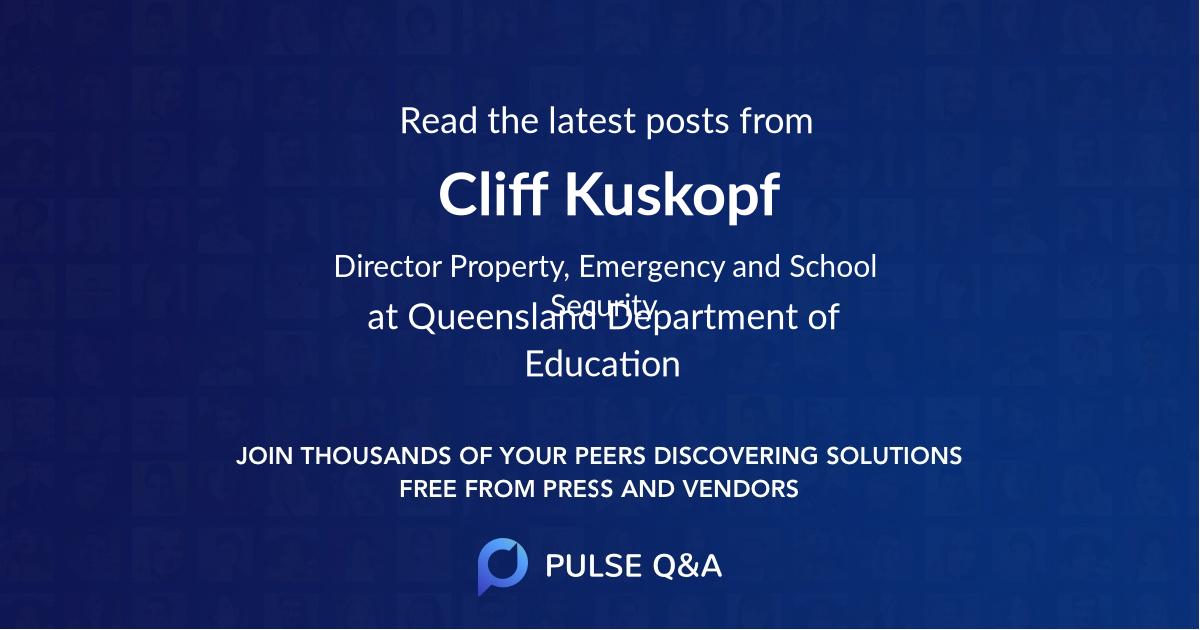 Cliff Kuskopf