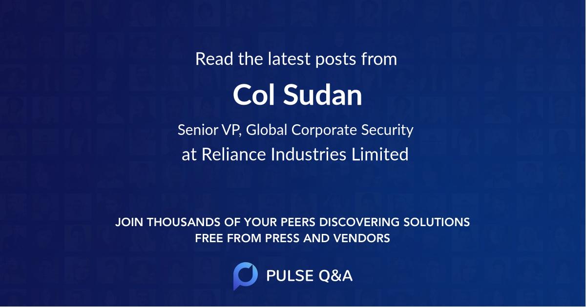 Col Sudan