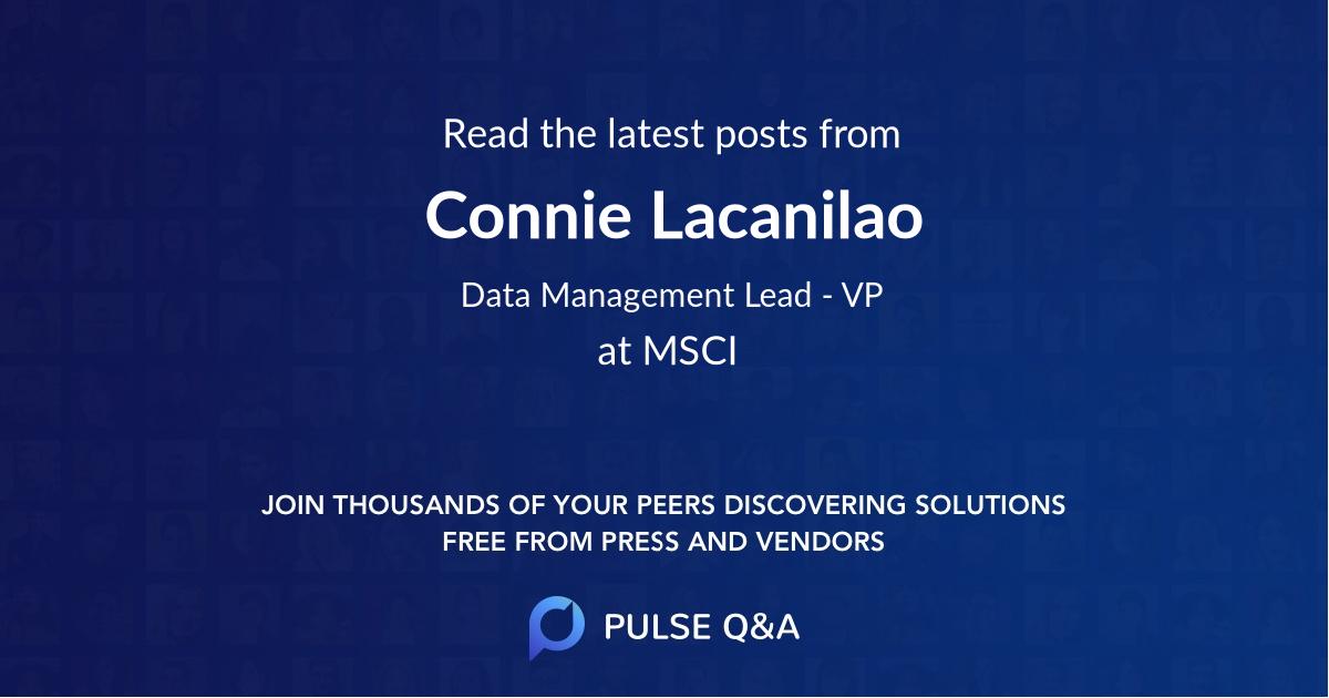 Connie Lacanilao