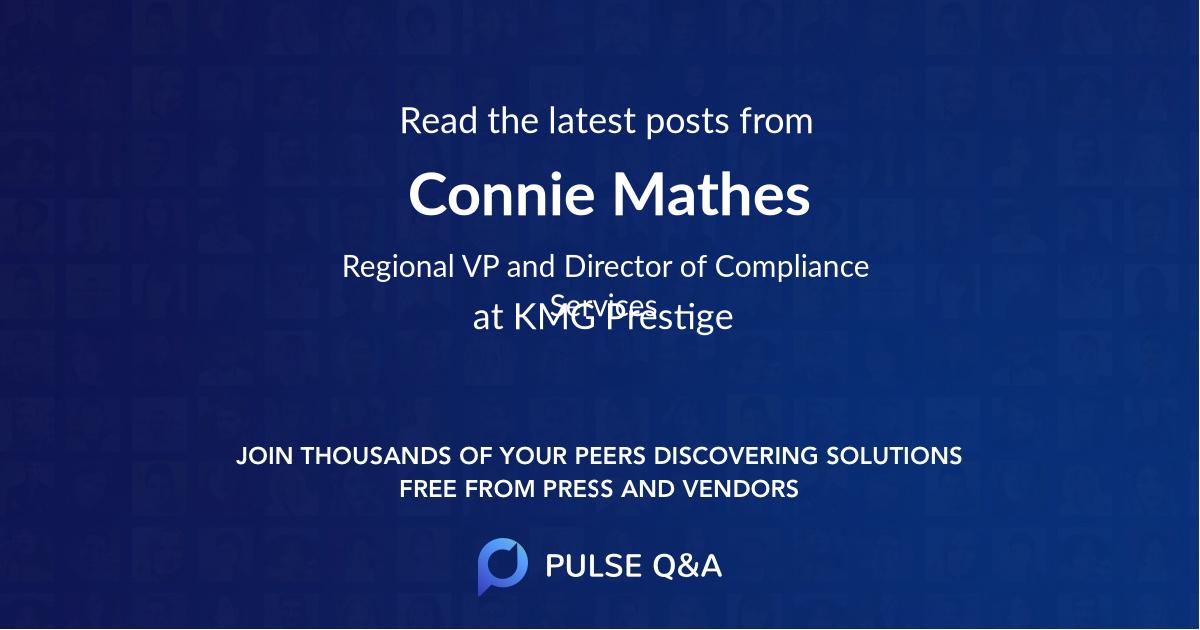 Connie Mathes