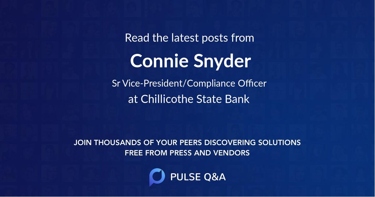 Connie Snyder