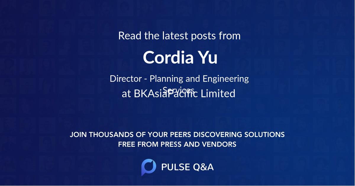 Cordia Yu