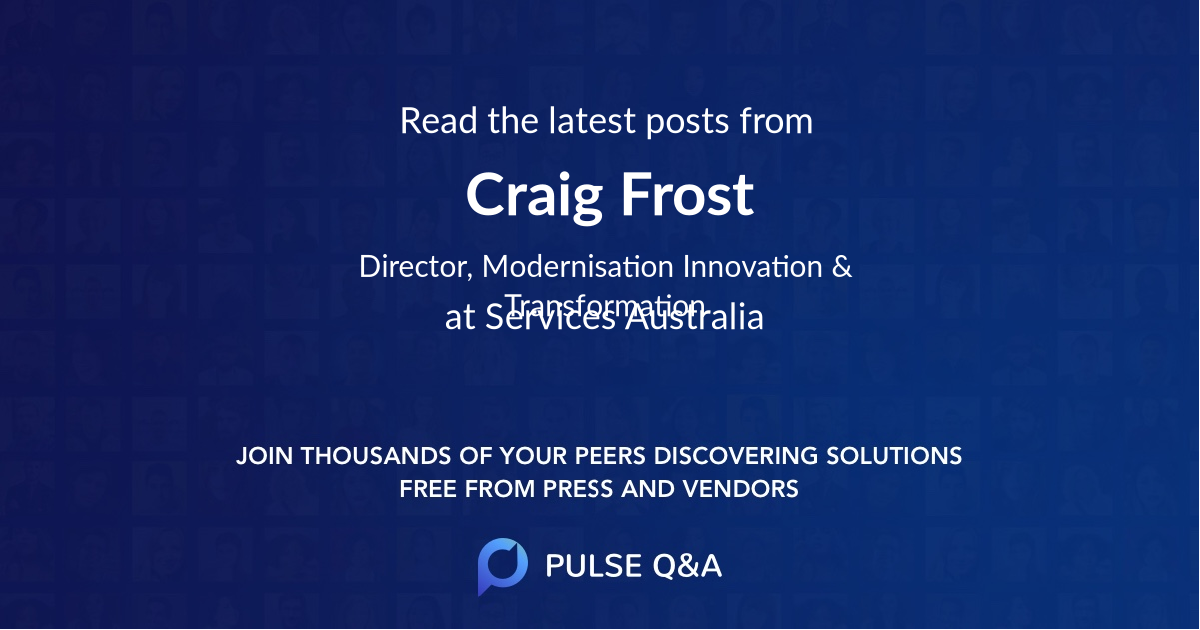 Craig Frost