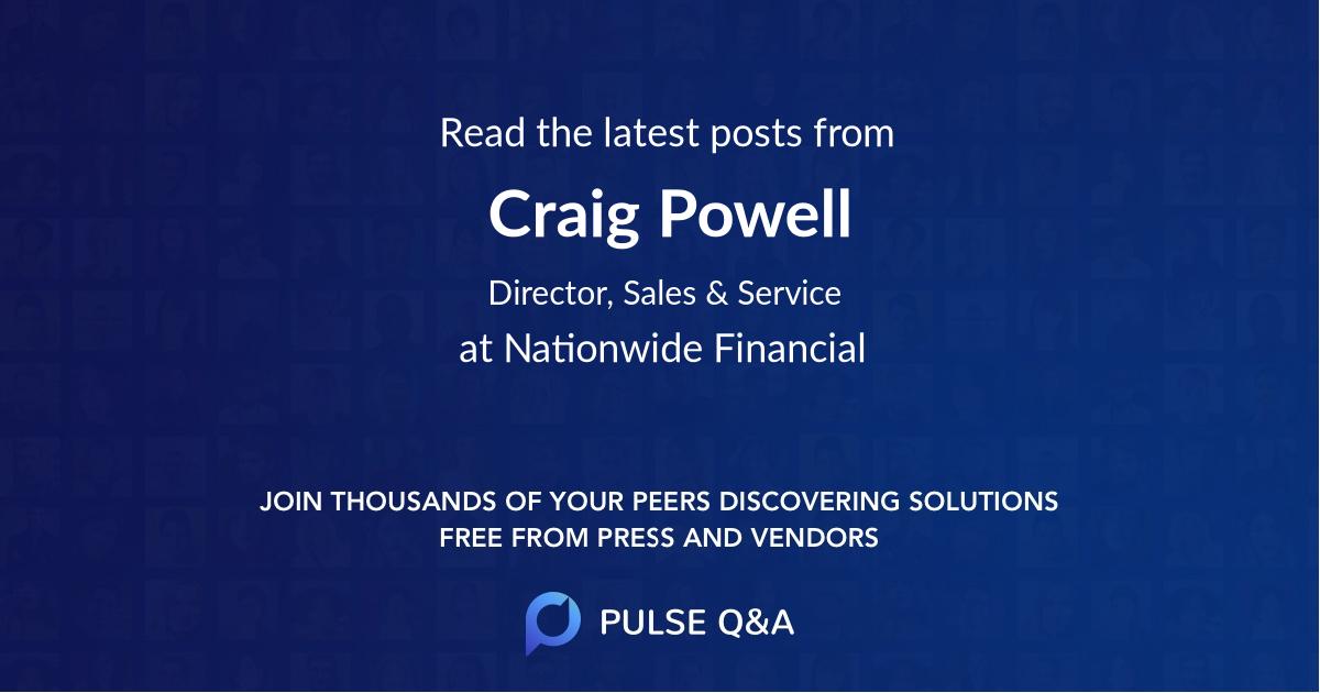Craig Powell