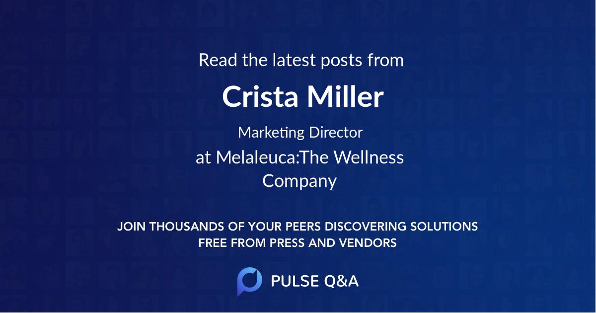 Crista Miller