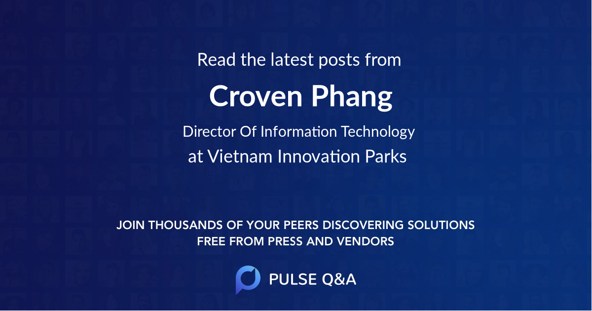 Croven Phang