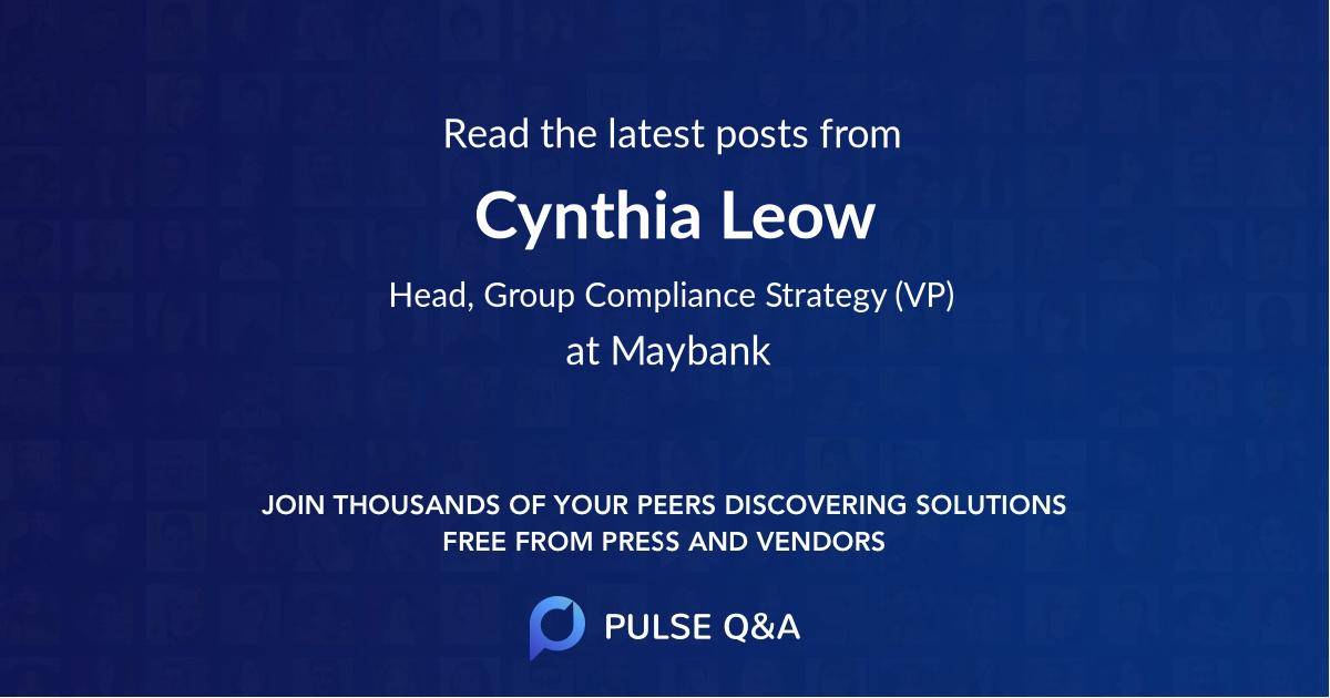 Cynthia Leow