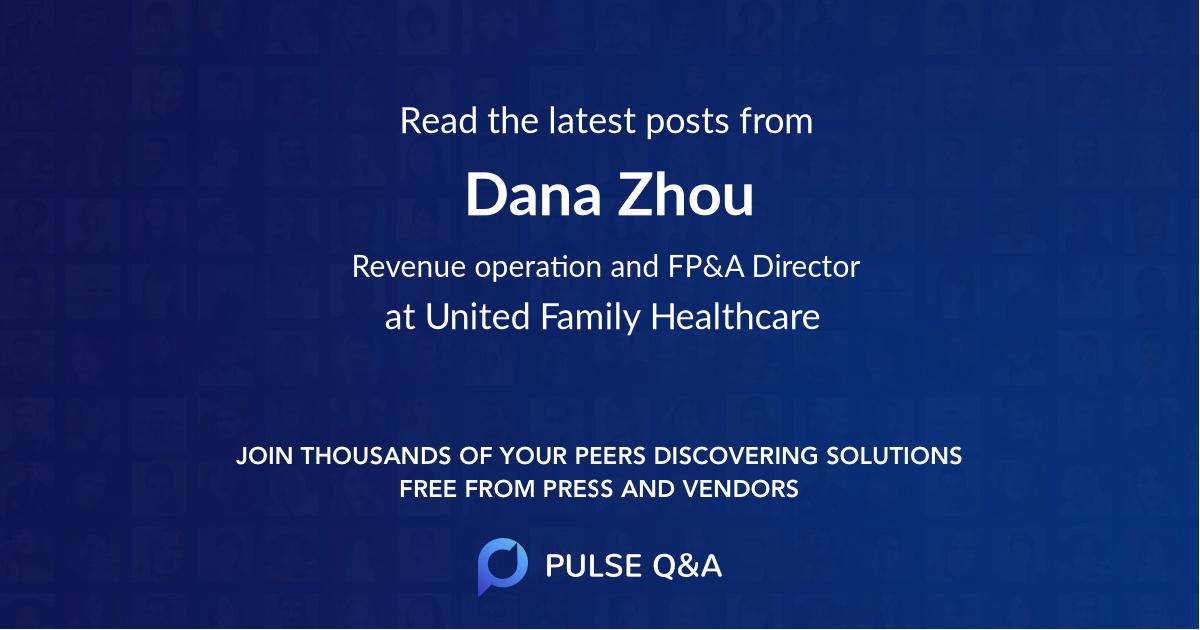 Dana Zhou