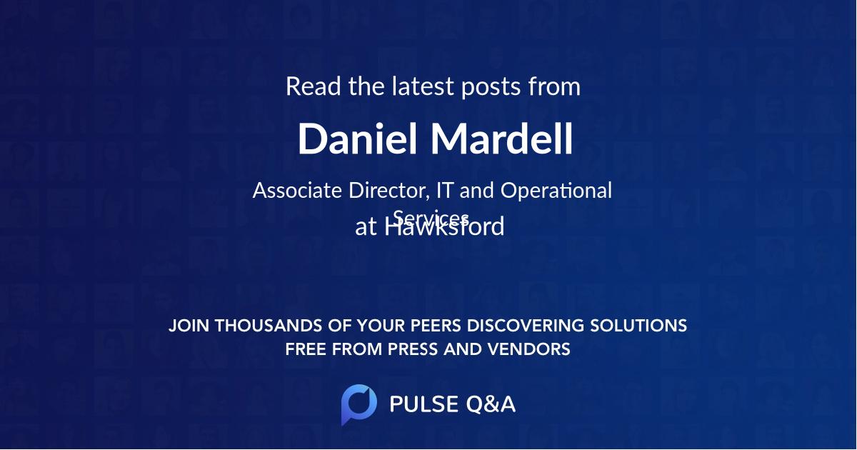 Daniel Mardell