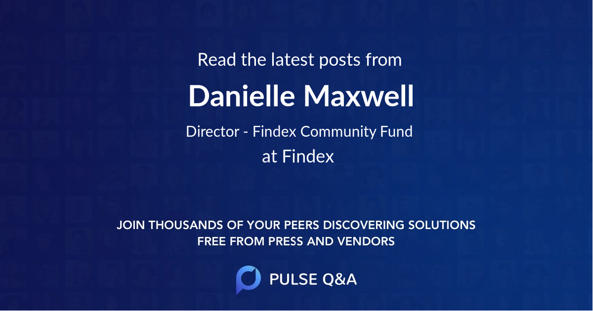 Danielle Maxwell