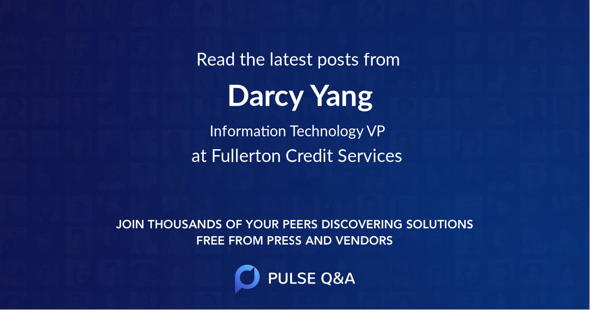 Darcy Yang