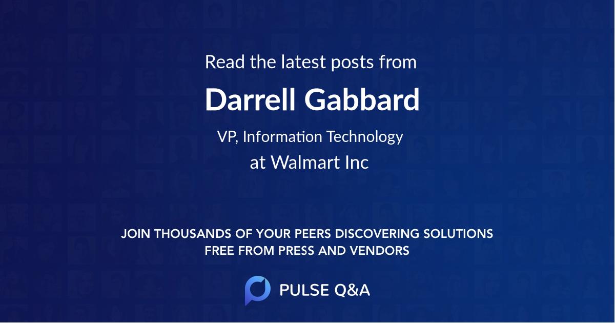 Darrell Gabbard