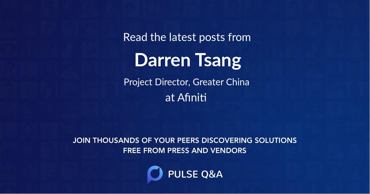 Darren Tsang