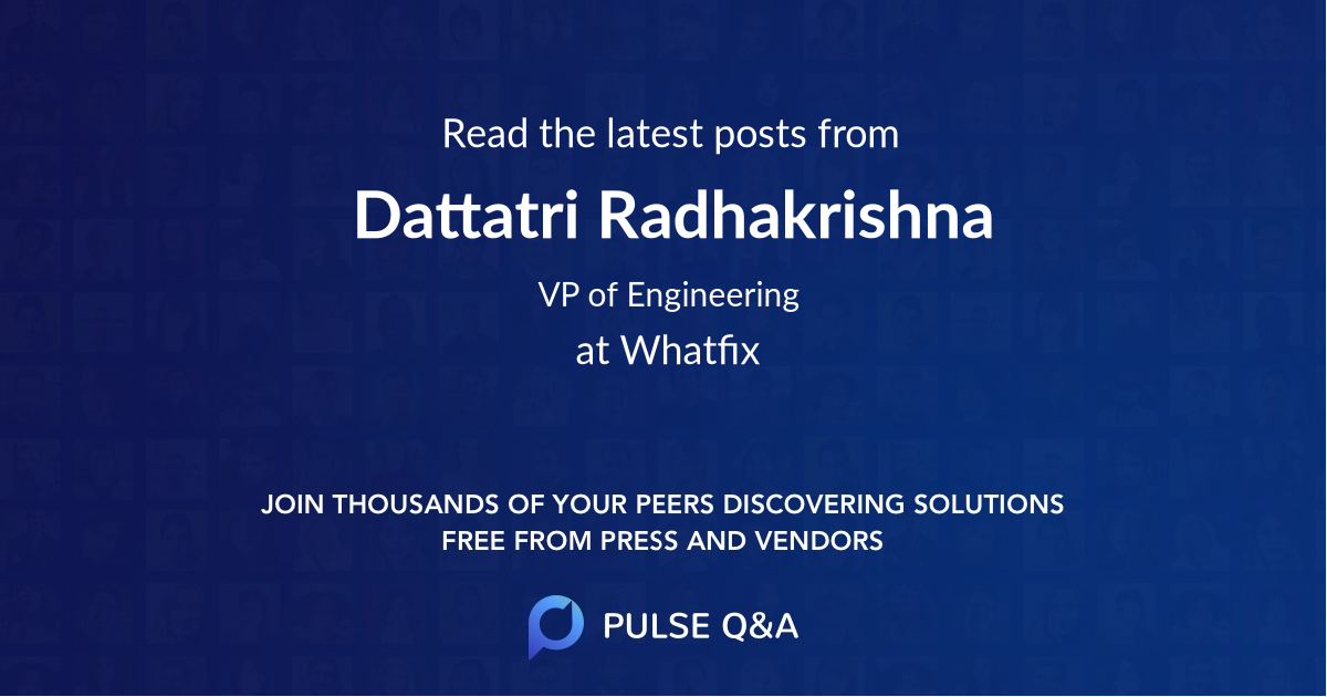 Dattatri Radhakrishna
