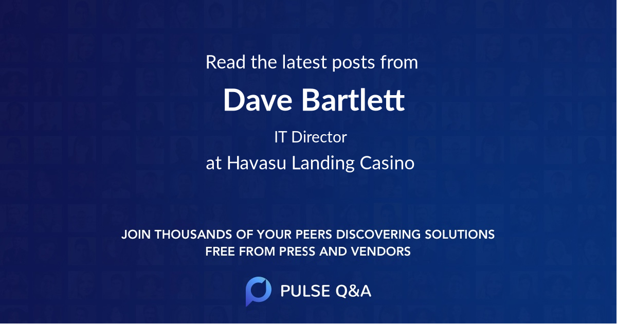 Dave Bartlett