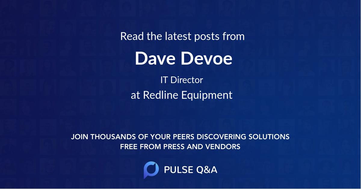 Dave Devoe