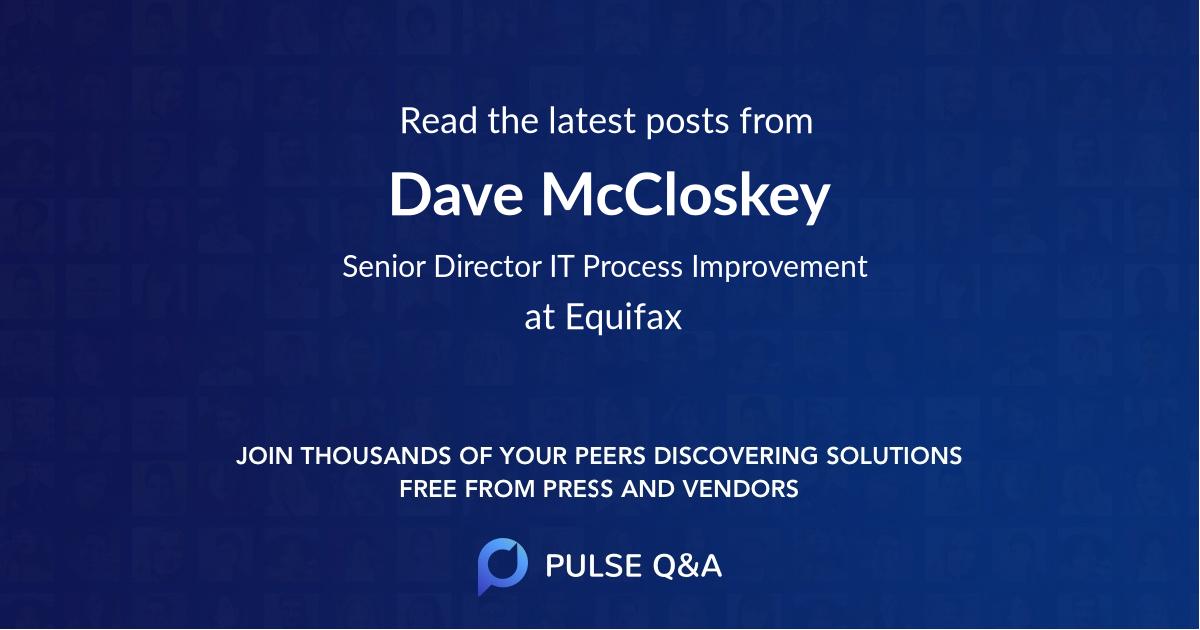 Dave McCloskey