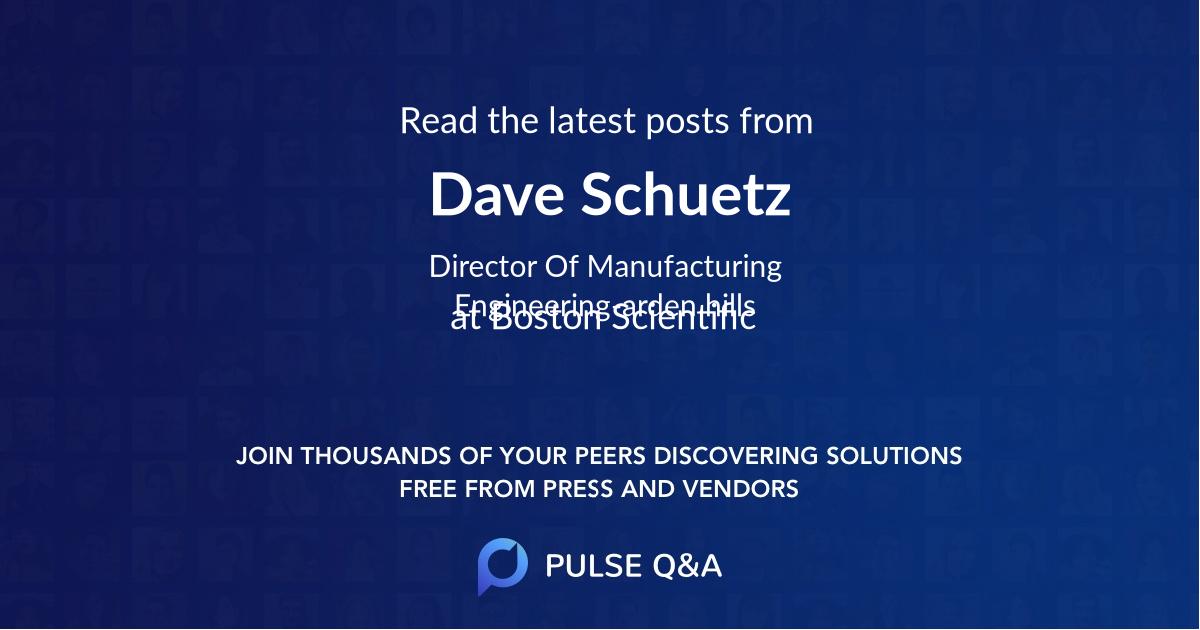 Dave Schuetz