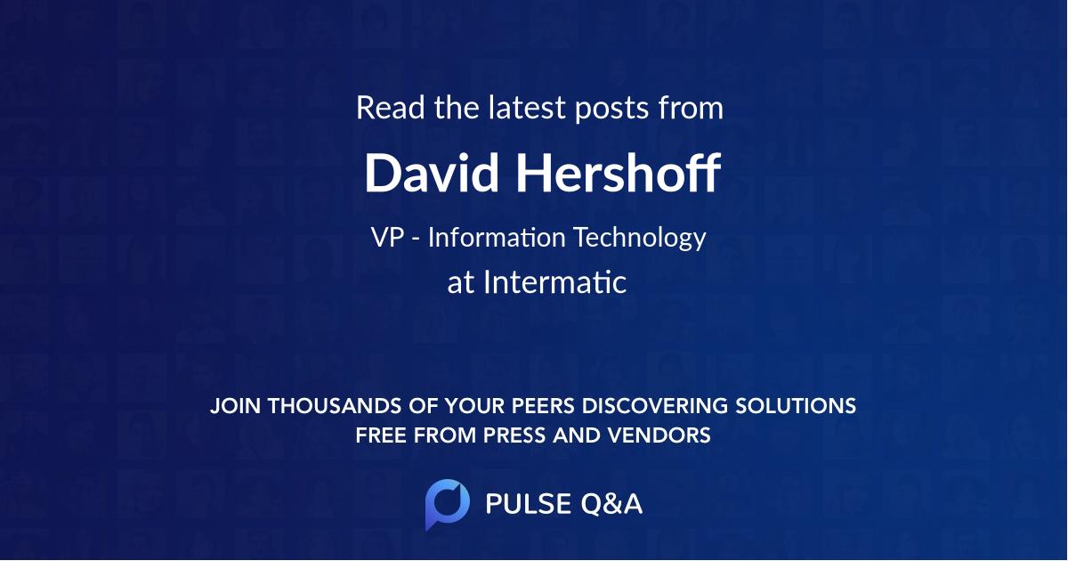 David Hershoff
