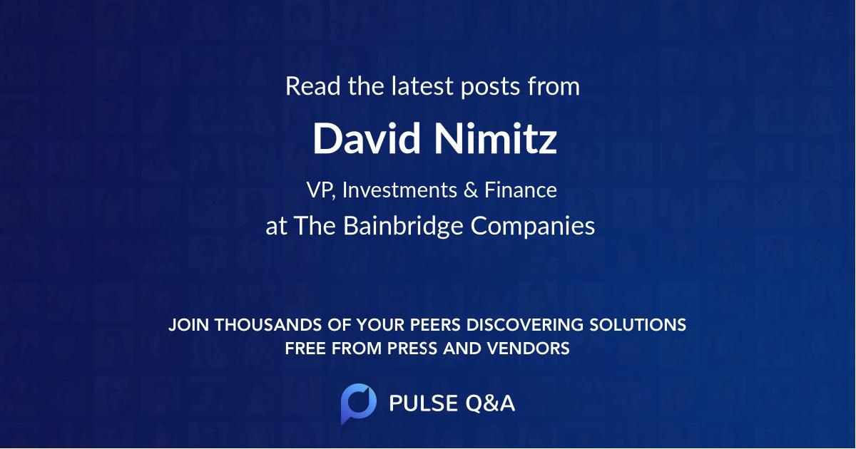 David Nimitz