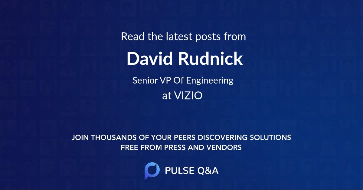 David Rudnick