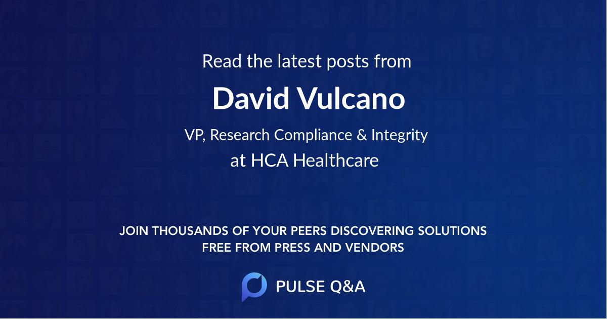 David Vulcano