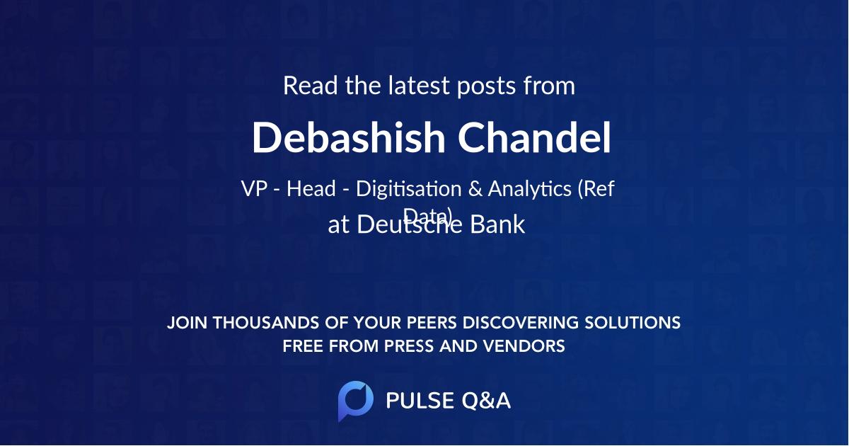 Debashish Chandel