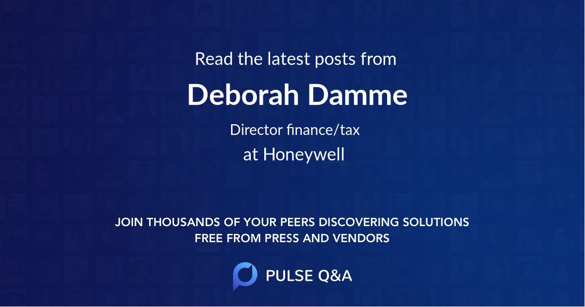 Deborah Damme