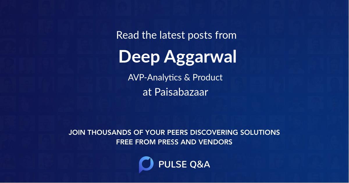 Deep Aggarwal