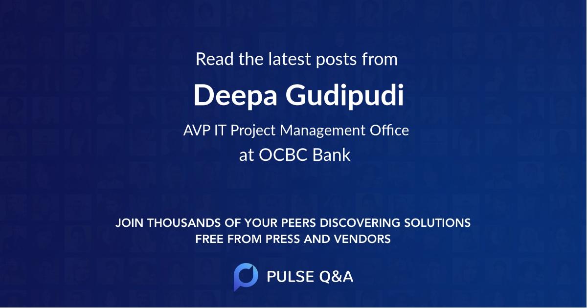 Deepa Gudipudi