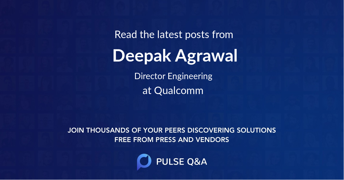 Deepak Agrawal