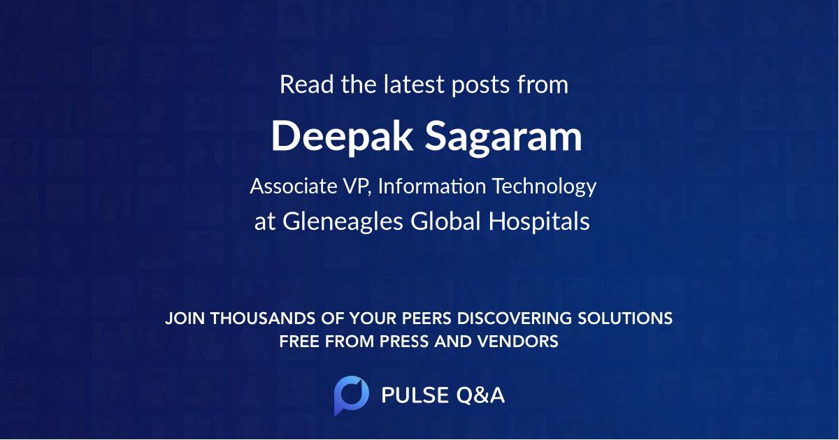 Deepak Sagaram